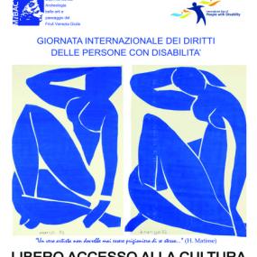 """""""Diritti dei disabili"""": Giornata internazionale a Udine, 3 dicembre 2019"""